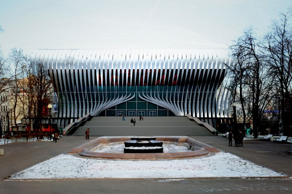 new pushkinsky cinema