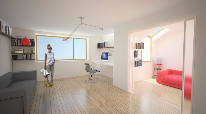 Office and Guest Room